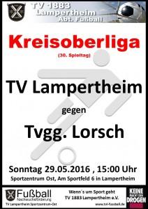 Plakat TV Lampertheim Saision 2015_2016 TVL I