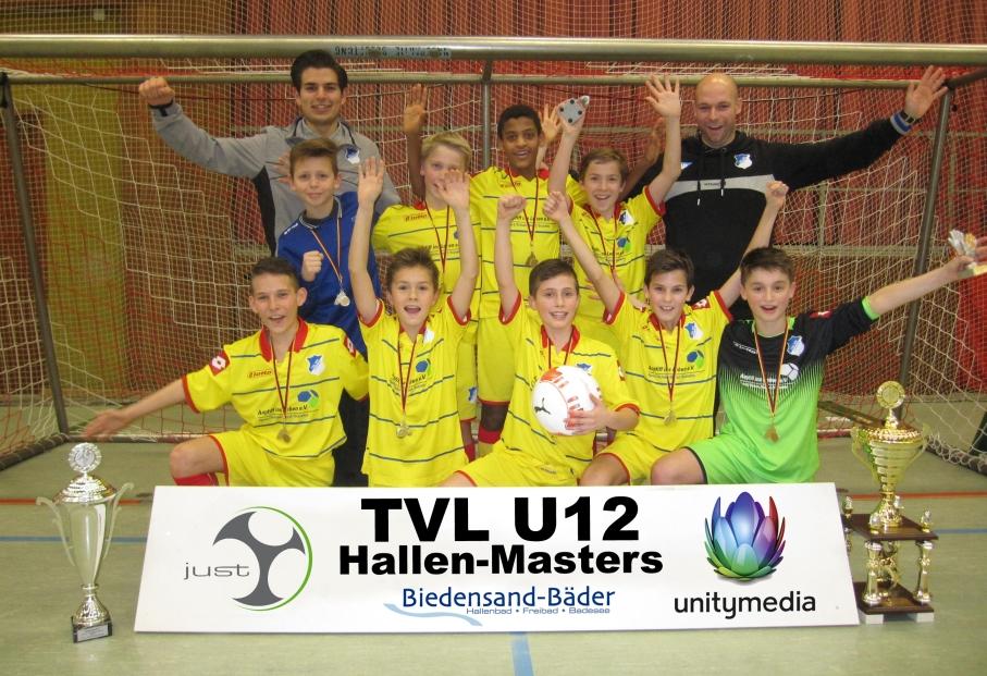 Sieger TVL U12 Hallen-Masters 2015 – TSG 1899 Hoffenheim