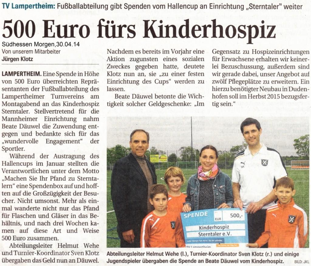 TV Lampertheim_Übergabe Spenden an Sterntaler_SÜMO_Onlineversion