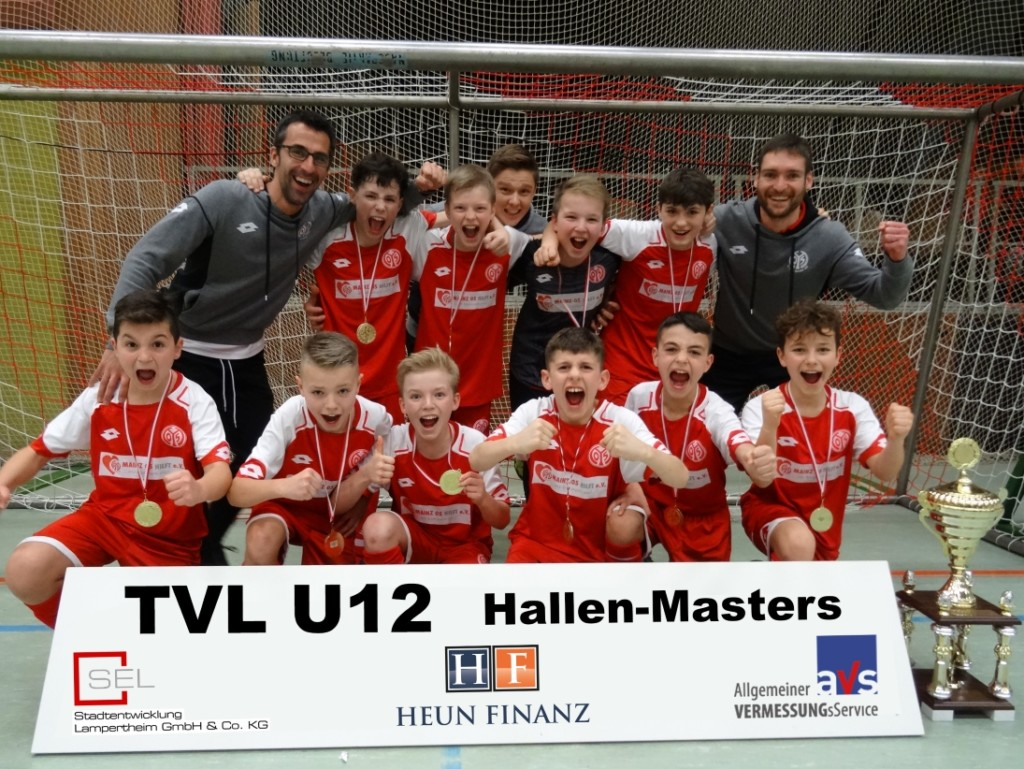 Tv Lampertheim Fussball Siegertafel Tvl U12 Hallen Masters
